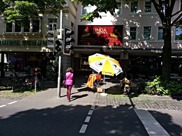 Infostand Friedberg 03.05.2014